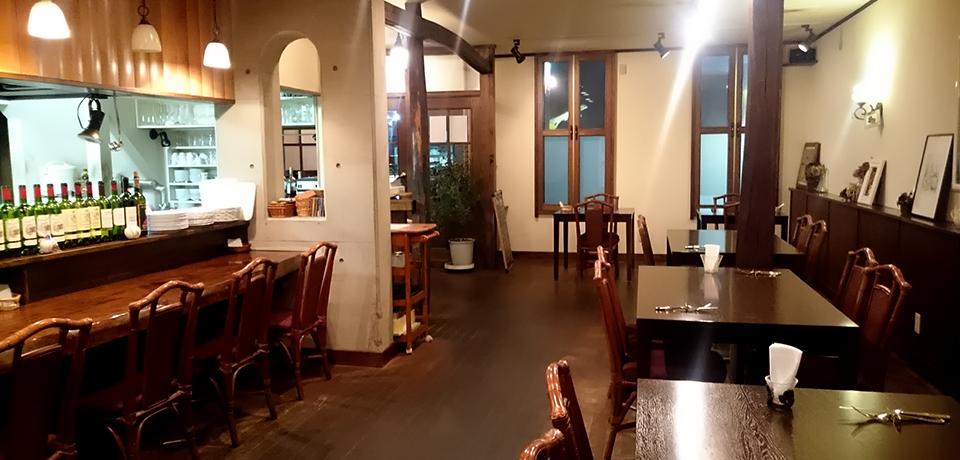 小樽 北のウォール街のイタリア・フランス欧風料理 Bistrot Blanche